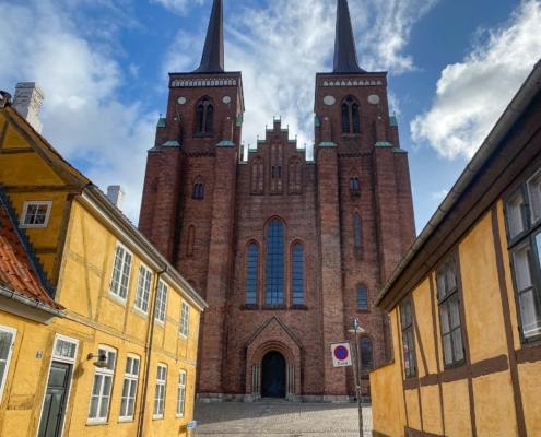 Roskilde domkirke - et stop på turen Sjælland rundt